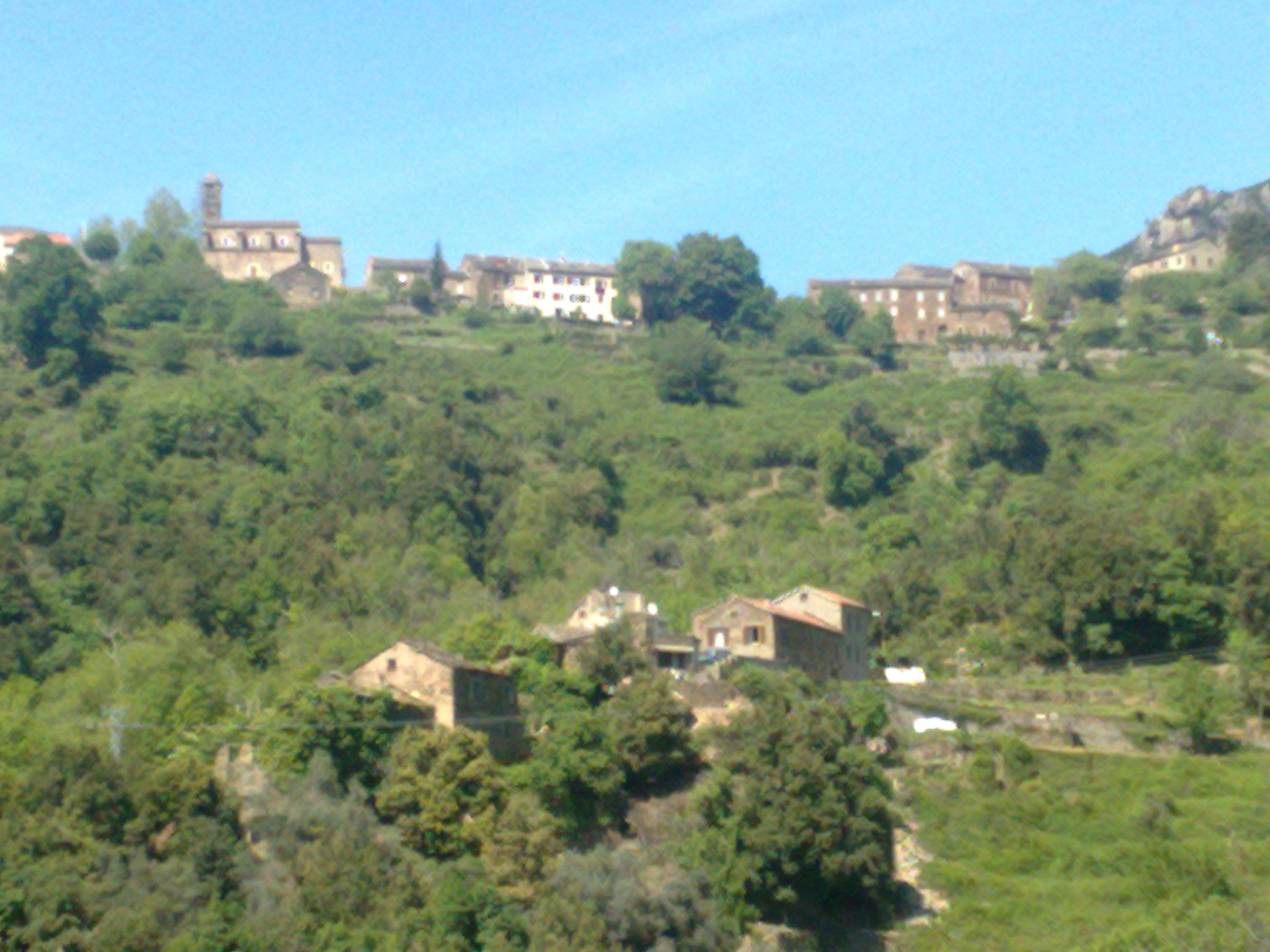 Monte, vu de Ferlaghja