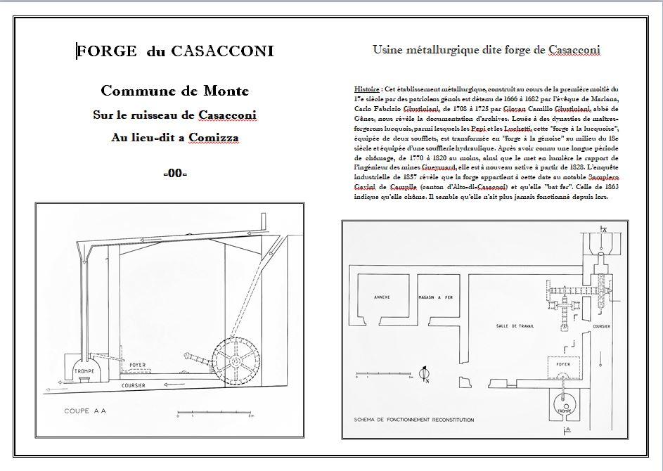 FORGE DU CASACCONI