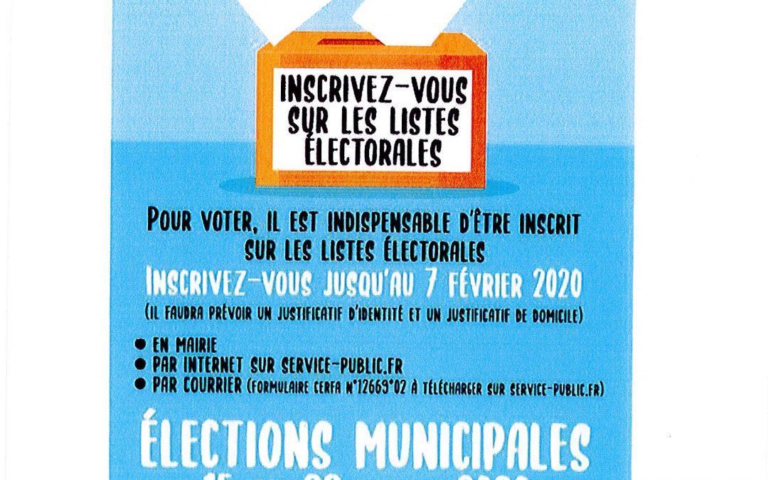 Pensez à vérifier votre situation électorale!!